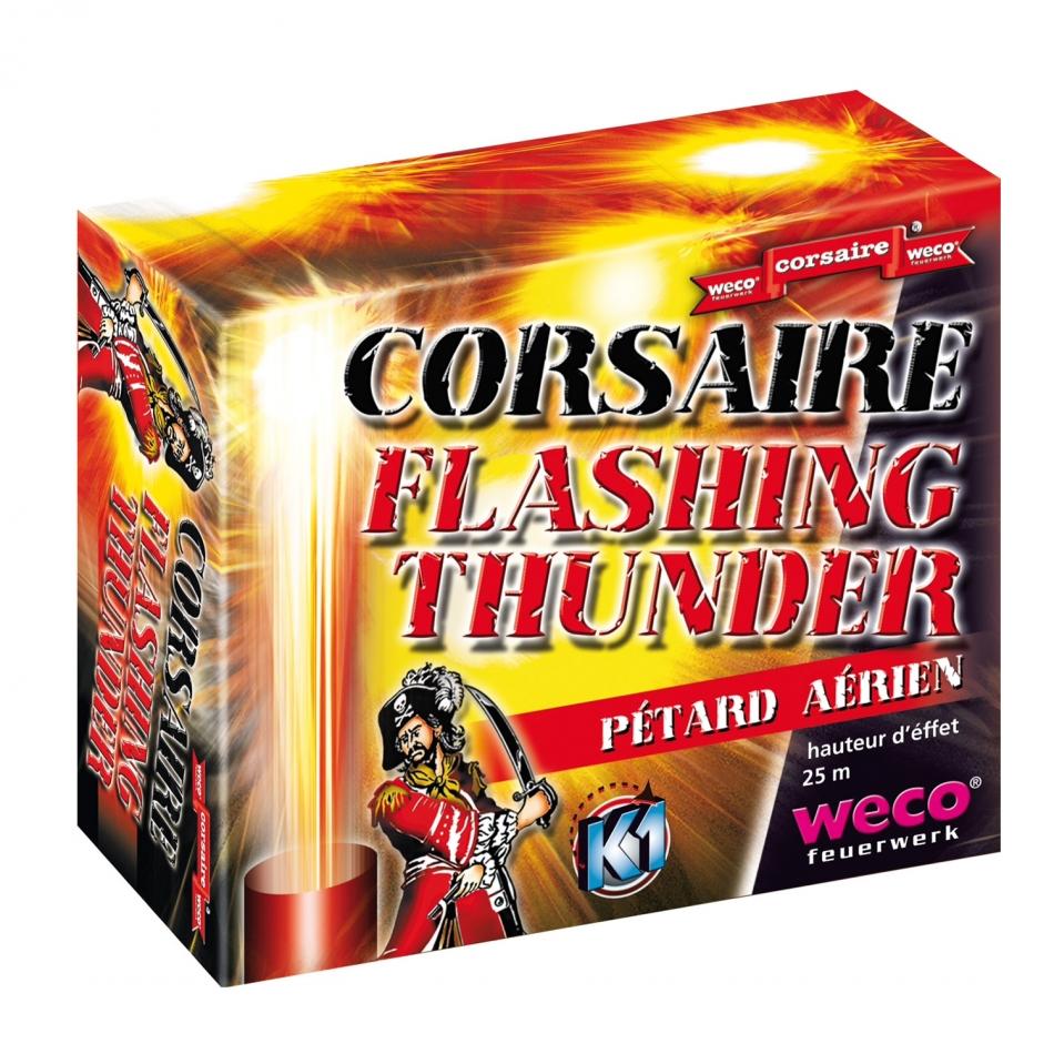 Corsaire flashing thunder pétard aérien