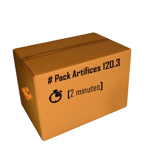 Pack artifices 120.3