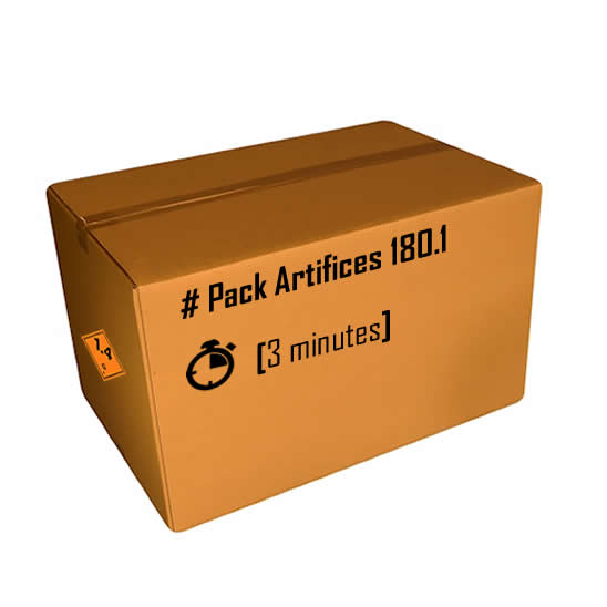 Pack artifices 180.1