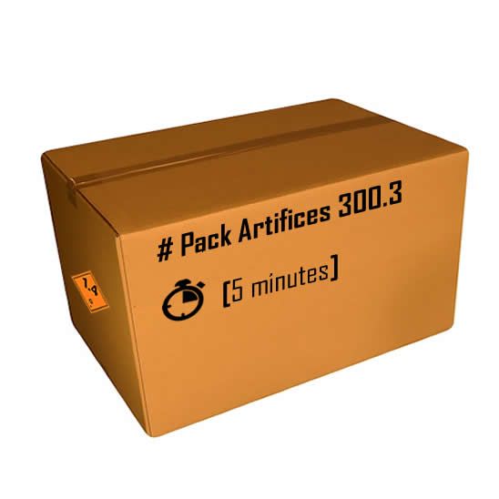 Pack artifices 300.3