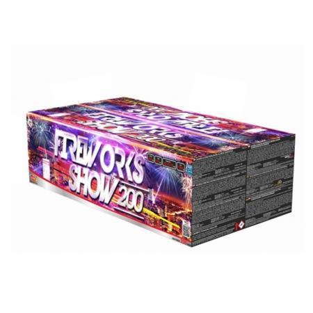 Fireworks show 200